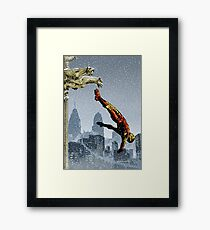It started with yellow Framed Print