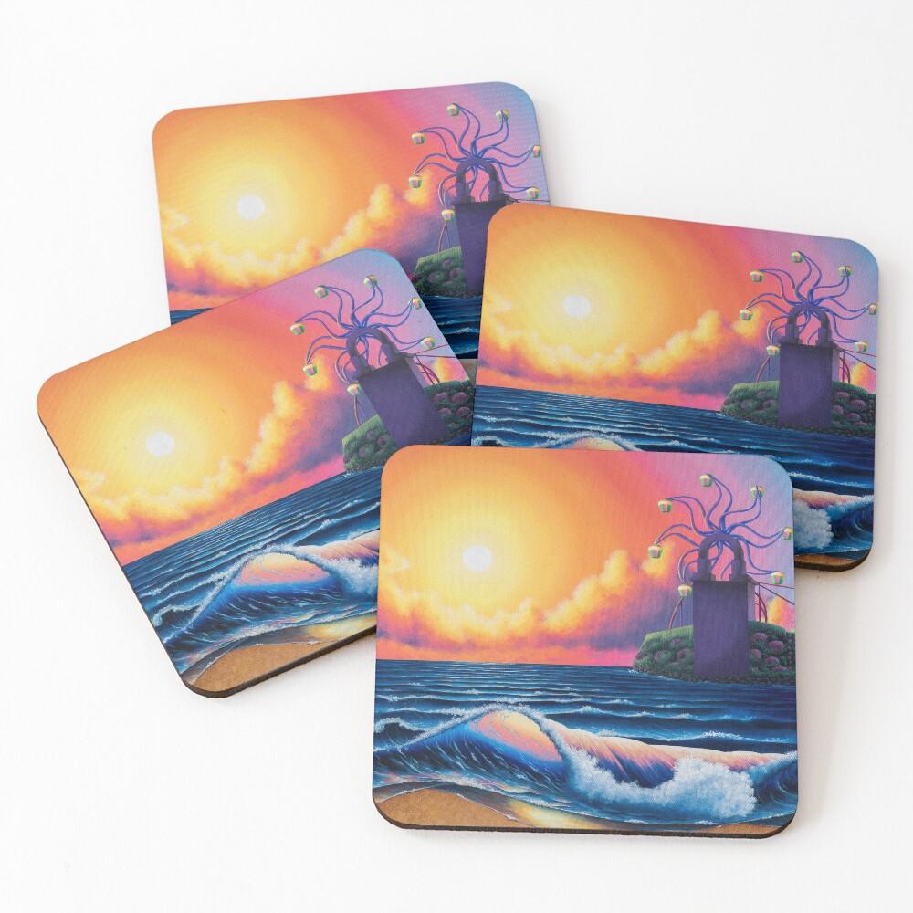 Sirena Beach Coasters (Set of 4)
