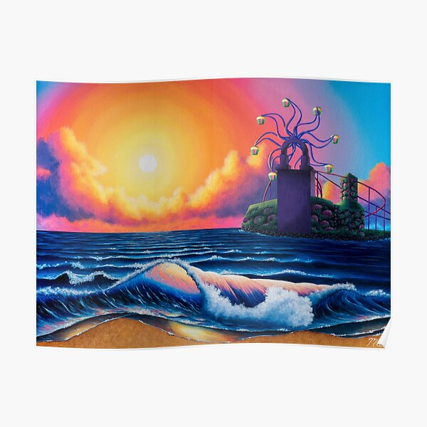 Sirena Beach Poster