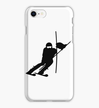 Slalom Skiing VRS2 iPhone Case/Skin