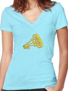 Borderlands Golden Keys Women's Fitted V-Neck T-Shirt