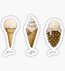 Ice-Cream Cones Sticker