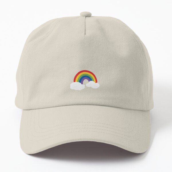 Happy Rainbow Dad Hat