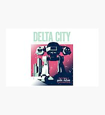 ED 209 Delta City Photographic Print