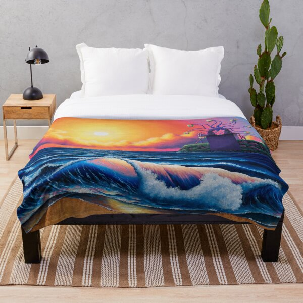 Sirena Beach Throw Blanket