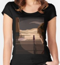 """Ahsoka Tano """"Im sorry master, Im not coming back"""" Women's Fitted Scoop T-Shirt"""