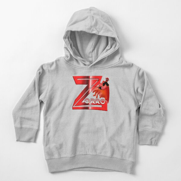 Zorro, audacious acrobat and smart as a fox Toddler Pullover Hoodie