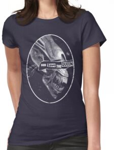 GOD SAVE THE QUEEN! Womens Fitted T-Shirt