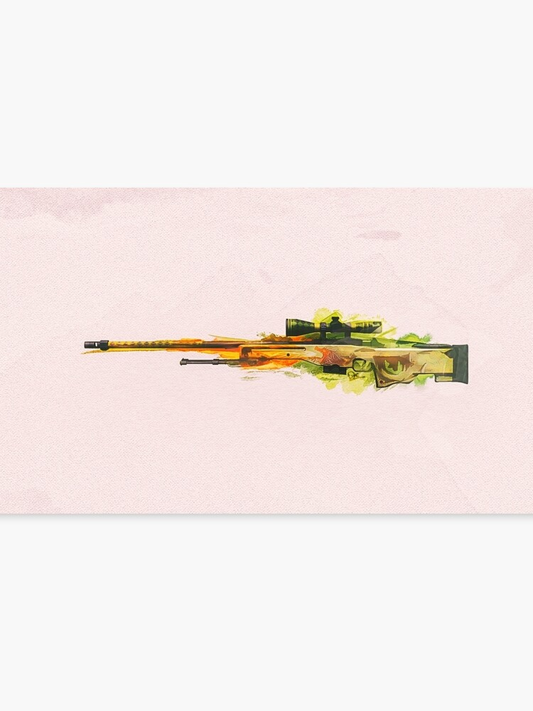 Csgo Awp Dragon Lore Canvas Print By Lexylady Redbubble