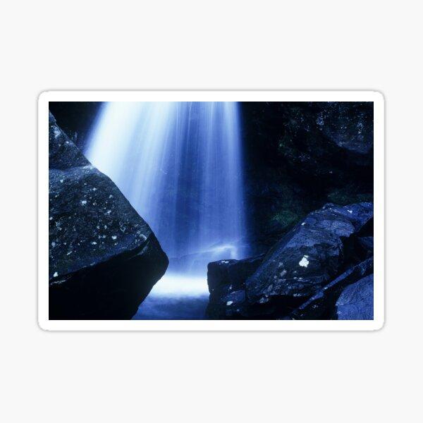 Blue Falls Sticker