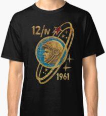 CCCP Yuri Gagarin 12-4-1961 Classic T-Shirt