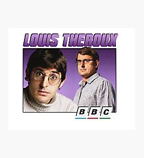 Louis Theroux 90s Alternate Photographic Print