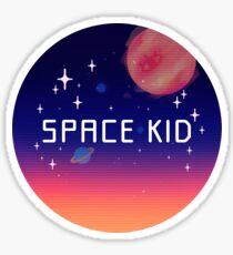 SPACE KID Sticker