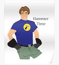 Hammer Time Poster