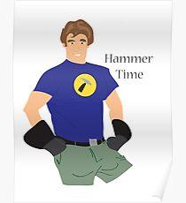 Hammer Time Poster