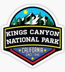 KINGS CANYON NATIONAL PARK CALIFORNIA MOUNTAINS HIKE HIKING CAMP CAMPING 2 Sticker