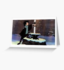 Who Is The King In The North? Greeting Card