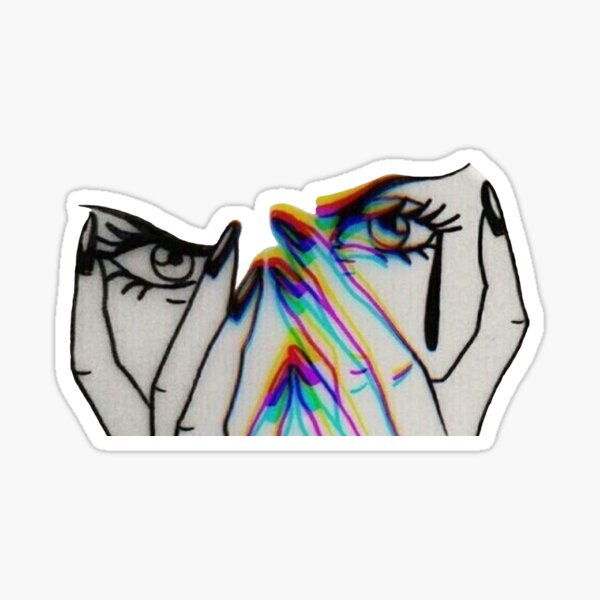 Trippy Stickers Redbubble