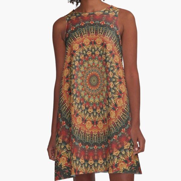 Mandala 128 A-Line Dress