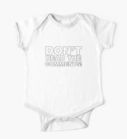 Don't read the comments! Kids Clothes