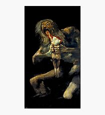 Saturn Devouring His Son Photographic Print