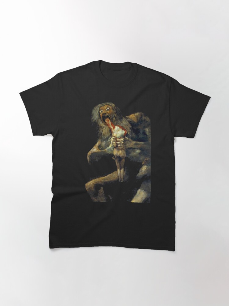 Alternate view of Saturn Devouring His Son Classic T-Shirt