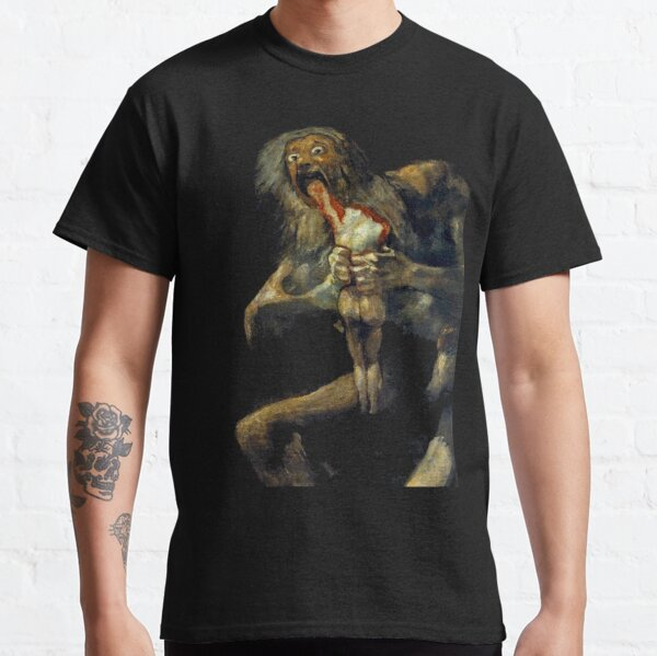 Saturn Devouring His Son Classic T-Shirt