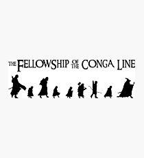 Fellowship of the Conga Line Photographic Print