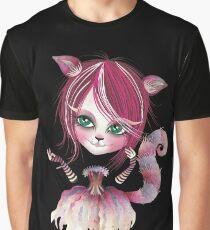 Cheshire Kitty Graphic T-Shirt