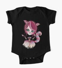 Cheshire Kitty One Piece - Short Sleeve