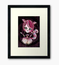 Cheshire Kitty Framed Print