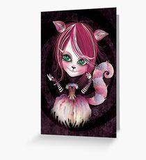 Cheshire Kitty Greeting Card