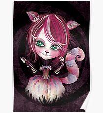 Cheshire Kitty Poster