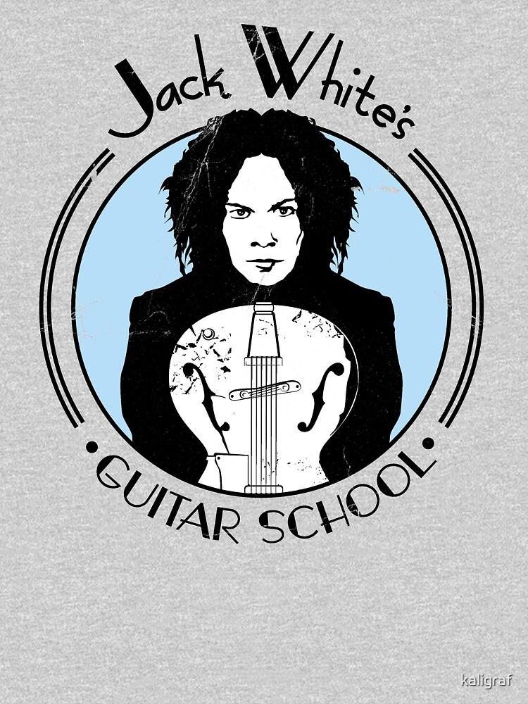 Jack White's Guitar School   Unisex T-Shirt