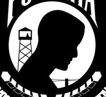 POW MIA Flag Sticker