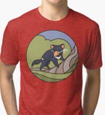 LinuxConf: TUZ! Tri-blend T-Shirt