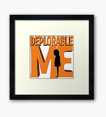 Deplorable Me Framed Print