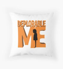Deplorable Me Throw Pillow