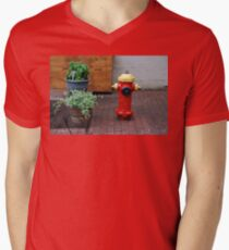 Quebec Urban Still Life Men's V-Neck T-Shirt