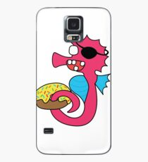 zombie pirate seahorse dangles a donut Case/Skin for Samsung Galaxy
