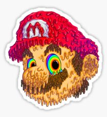 Trippy Mario Sticker