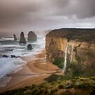 Double Waterfalls at 12 Apostles by hangingpixels