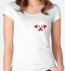 Simple the clown Women's Fitted Scoop T-Shirt