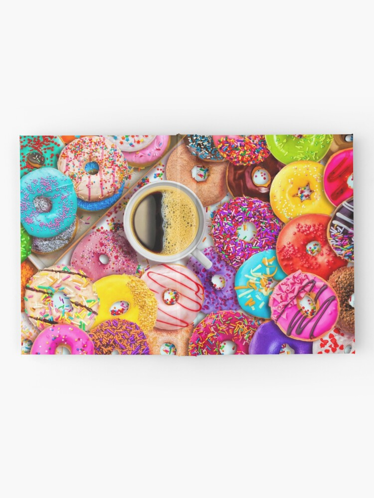 Alternate view of Donuts & Coffee Hardcover Journal