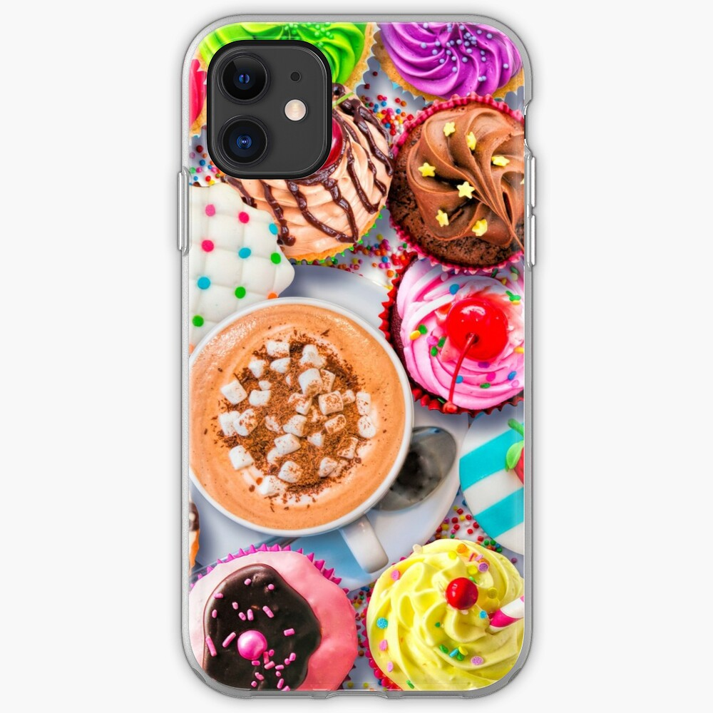 Cupcakes and Cocoa iPhone Soft Case