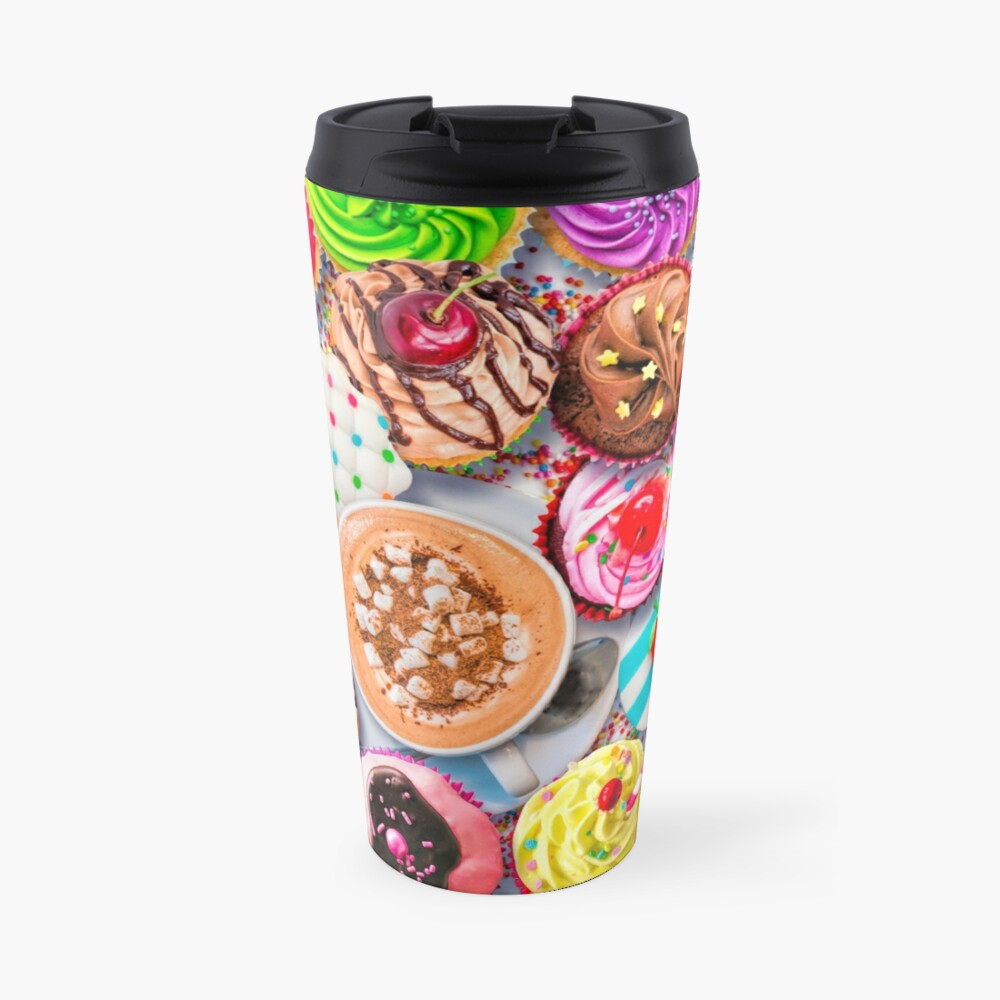 Cupcakes and Cocoa Travel Mug