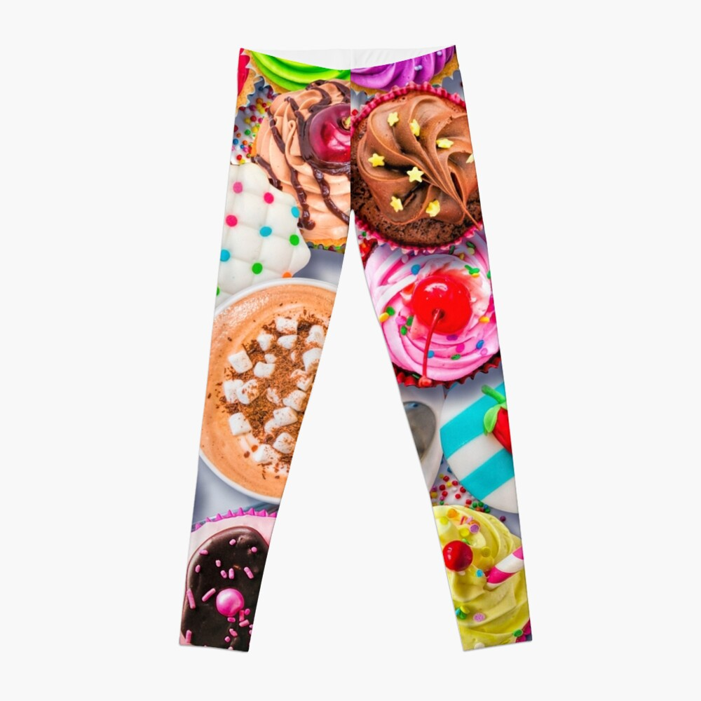 Cupcakes and Cocoa Leggings