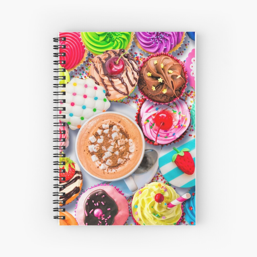 Cupcakes and Cocoa Spiral Notebook