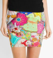 Tea and Cookies Mini Skirt