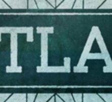Sleeping At Last - Atlas Album Logo Sticker